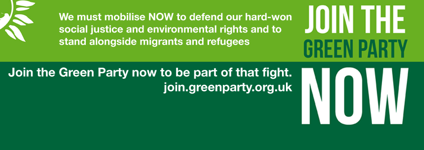 Join the Green Party now
